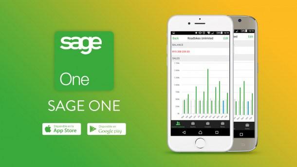 gastos y facturas controlados con la app de sage